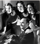 Sholom Secunda with the Andrews Sisters_1