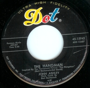 1959 Hangman-John Ashley-Dot 45-15942