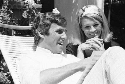 Burt Bacharach and Angie Dickinson