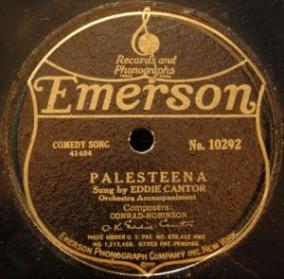 1920 Palesteena-Eddie Cantor-Emerson 10292