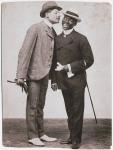Williams & Walker_Bert Williams (left) and GeorgeWalker-c.1898