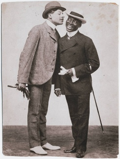 Williams & Walker_Bert Williams (left) and George Walker-c.1898
