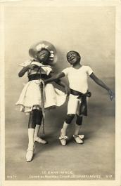 Rudy and Fredy Walker, c. 1903 postcard # 142/7