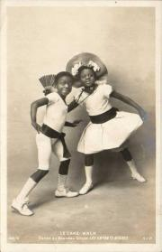 Rudy and Fredy Walker, c. 1903 postcard # 142/8