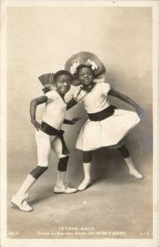 Rudy and Fredy Walker, c. 1903 postcard # 142/8