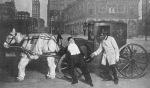 Leon Errol and Bert Williams, cab scene in 1912 Ziegfeld Follies(2)