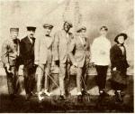 Bert Williams, center in blackface, in the 1919 ZiegfeldFollies