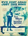 1920_Eve Cost Adam Just One Bone (Chas. Bayha)_Bert Williams_1_t100f12