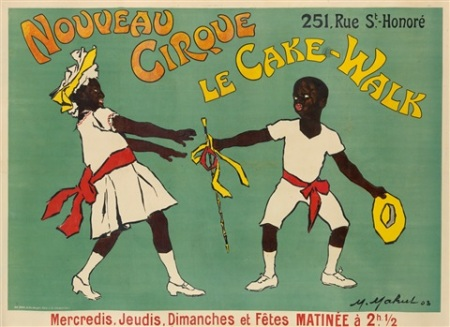 Nouveau Cirque, Le Cake-Walk poster,1903, by Maurice Mahul (1)