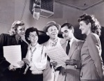 Andrews Sisters and Bing Crosby_with Irving Berlin_1947_promote _Freedom Train_2