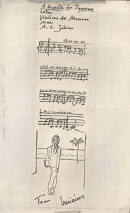 Garota de Ipanema_manuscript with illustration_1