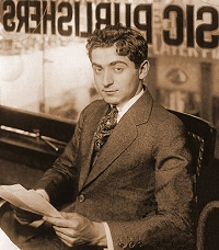 Irving Berlin-1912 in Waterson, Berlin & Snyder office-1