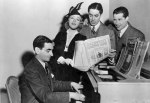 Irving Berlin performs with stars_set of Alexander's Ragtime Band (1938)_1-e1