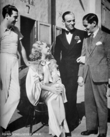 Mark Sandrich, Ginger Rogers, Fred Astaire, and Irving Berlin_1