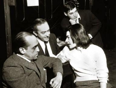 Orfeu da Conceição, 1956, Vinicius de Moraes and A.C. Jobim, with Oscar Niemeyer-1