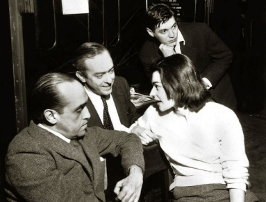 Orfeu da Conceição, 1956, Vinicius de Moraes and A.C. Jobim, with Oscar Niemeyer-1