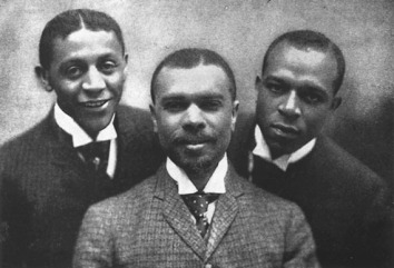 Robert Cole, James Weldon Johnson, and J. Rosamond Johnson-1