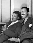 Adam Clayton Powell, Jr. and wife Hazel Scott_White House Christmas greeting, c. 1946_Chilton_5_tC