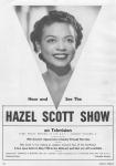Hazel Scott Show promo, c.1950_Chilton_4