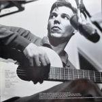 Tom Jobim-1963 Composer Plays era photo, back of 1969 LP Estrada Branca,