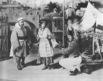 1906_scene from Abyssinia_Aida Overton Walker and Bert Williams_1