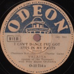 1935_I Can't Dance I've Got Ants in My Pants (Valaida Snow)_1