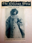 Aida Overton Walker on cover of Chicago Whip, August 10, 1929 (photo c. 1906,Abyssinia)