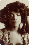 Aida Overton Walker, c.1903, as Rosetta Lightfoot in IN DAHOMEY