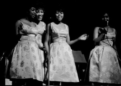 Shirelles-Apollo Theater, March, 1963 (1)