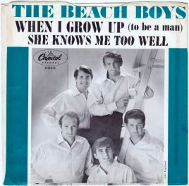 1964_Beach Boys_When I Grow Up_She Knows Me Too Well_Capitol 5245_sleeve_1a