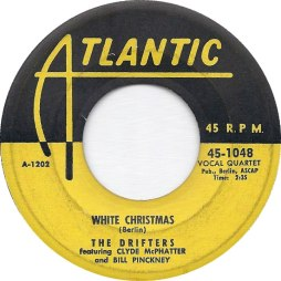 1954 White Christmas, Drifters, Atlantic 45-1048