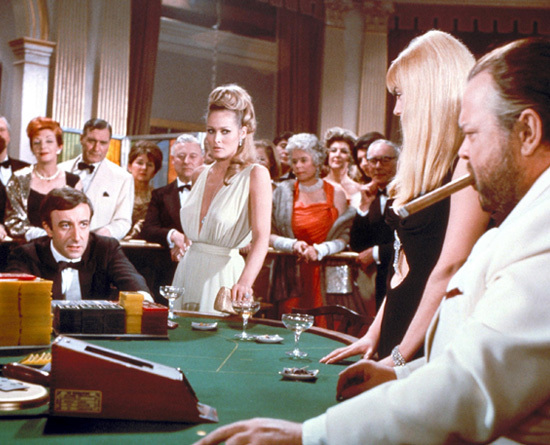 Cool  Pink Evening Dress In Movie Casino Royale 007 Dress From Celeblishcom