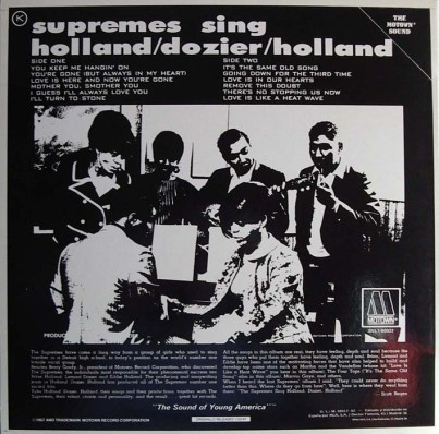 1967 Supremes Sing Holland-Dozier-Holland (back)-1