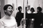Aretha Franklin_1964(?)_Columbia studio_NYC_with from left, Cissy Houston, Dee Dee Warwick, Judy Clay and Estelle Brown_1