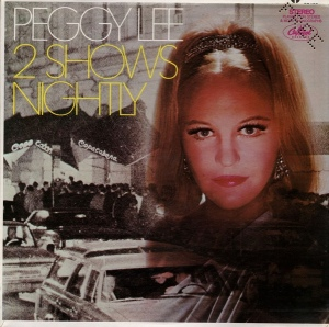 1968-2 Shows Nightly (LP)-Peggy Lee-Capitol Records ST 105