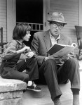 Mary Badham (Scout) and Gregory Peck (Atticus) read together_1