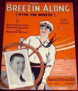 1926-Breezin'-Along-sheet-1