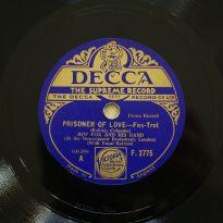1932-Prisoner-of-Love-Roy-Fox-(vocal-Al-Bowlly)- Decca-F-2775