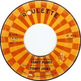 1966-Tommy-James-and-the-Shondells-Hanky-Panky-Roulette-(R-4686)-1-d50