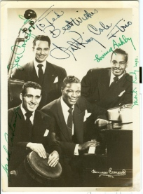 Nat-King-Cole-and-Cole-Trio-inscribed-c.1950