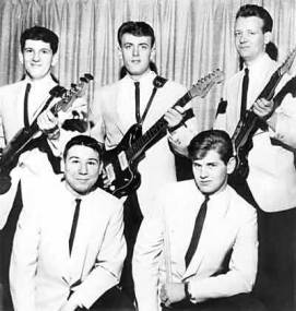 Shondells, with Tommy James, top center-c.1963