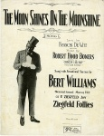 1919 The Moon Shines On the Moonshine-Ziegfeld Follies-Bert Williams(2)