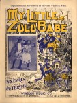 My Little Zulu Babe — 1900 sheet music, Williams & Walker insert, with skirts and nosering