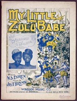 1900 My Little Zulu Babe (m. Brymn, w. Estren)-Williams & Walker-tc