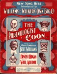 1901 The Phrenologist Coon, Williams & Walker (Sons of Ham)