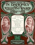 1903 Song Hits of In Dahomey-Williams & Walker-1