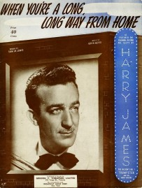 1942 When You're a Long, Long Way From Home-Harry James-sheet-1a