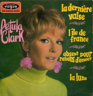 1967 La derniere valse-Petula Clark-EP Disques Vogue EPL 8 584