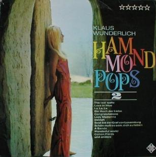 1968 Hammond Pops 2-Klaus Wunderlich,Telefunken (DE) SLE 14 514-P
