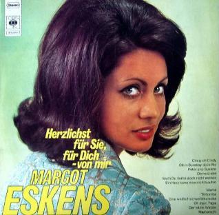 1968 Herzlichst für Sie-Margot Eskens-CBS (DE) S 52655-c1
